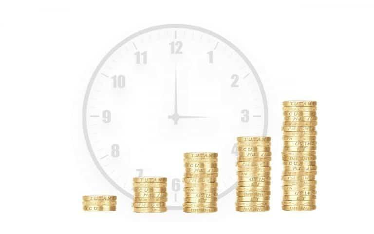 שעון ומטבעות