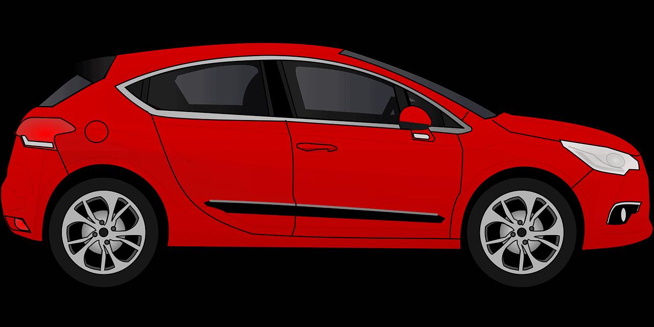 רכב אדום